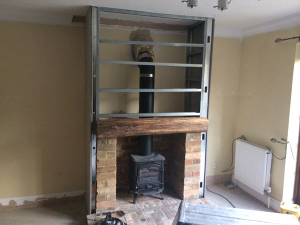 Twin Wall False Chimney Breast Cambridge Fire Places